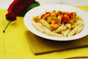 Maple Curry Chicken Penne