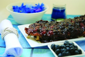 Blueberry spare ribs