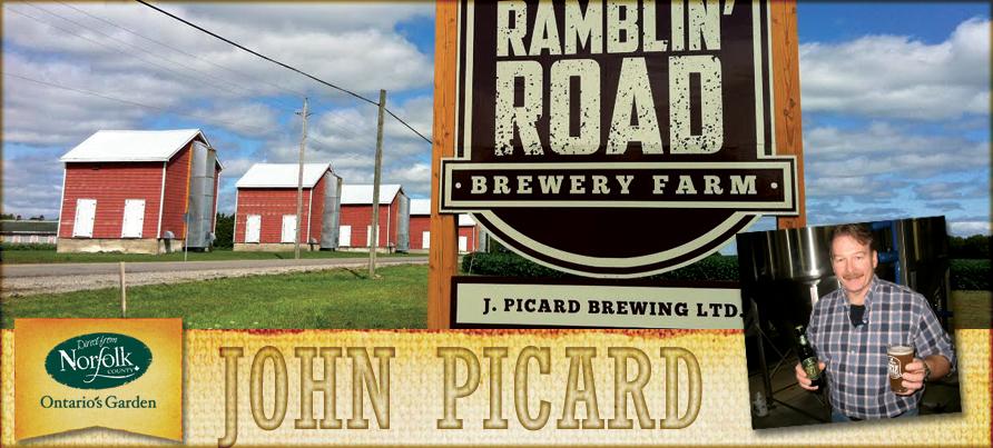 John Picard – Ramblin' Road Brewery Farm