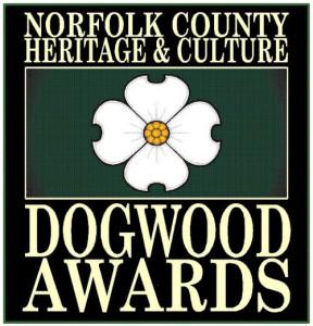 Norfolk County Heritage & Culture Dogwood Awards Logo