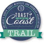 Click to view the Toast The Coast Trail Map