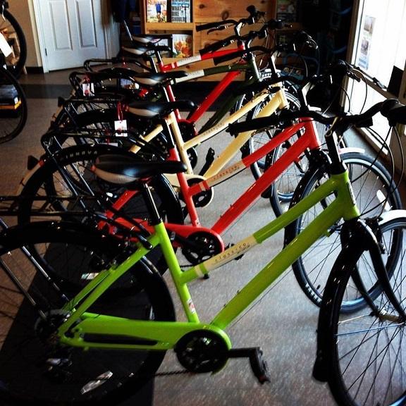 Opus bikes North Shore Athletics