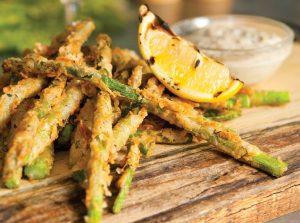 Combine Asparagus Frites