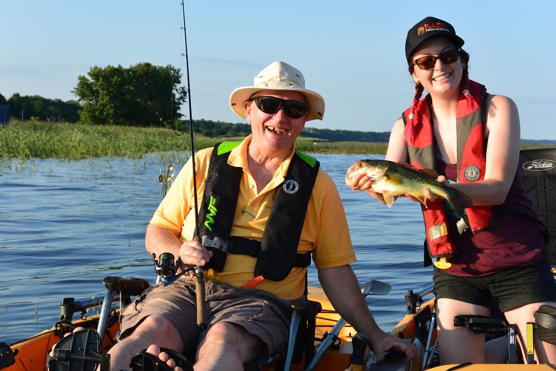 BAER kayak fishing