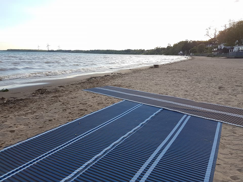 Port Dover beach accessible mat Norfolk County