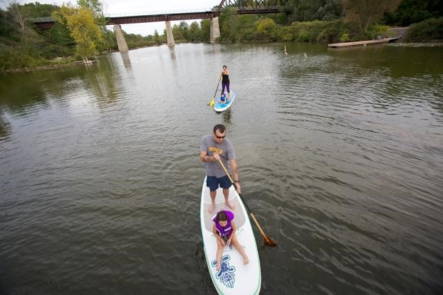 SUP Waterford ponds Norfolk County