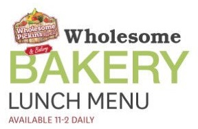 wholesome pickins bakery menu header