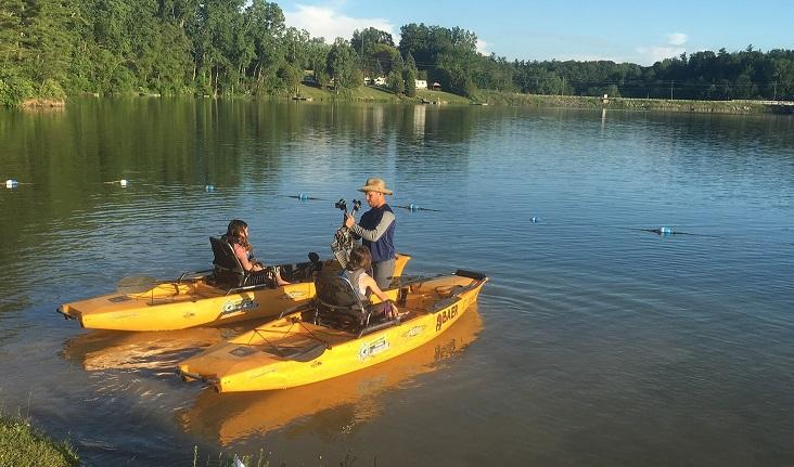 BAER Kayak Fishing Deer Creek Norfolk County