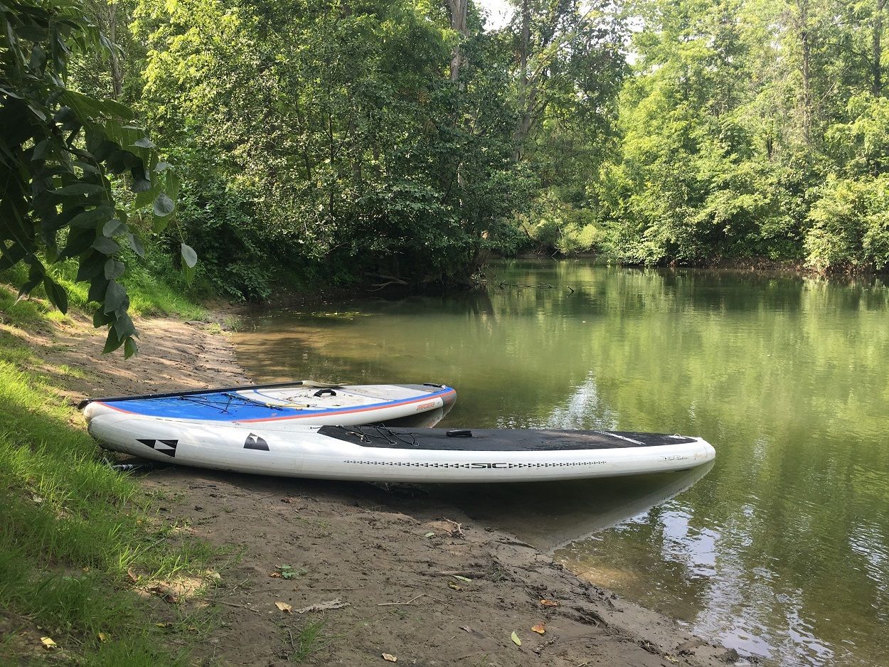 Big Creek Adventure paddleboards Norfolk County