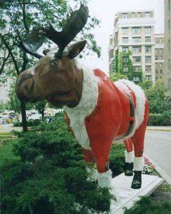 Santa Moose Toronto