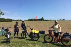 Cyclists near field