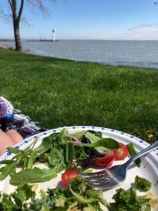 Harbour picnic salad