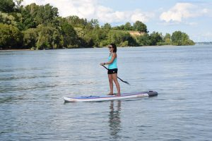 Paddleboarding Lake Erie