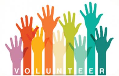 Volunteer call hands