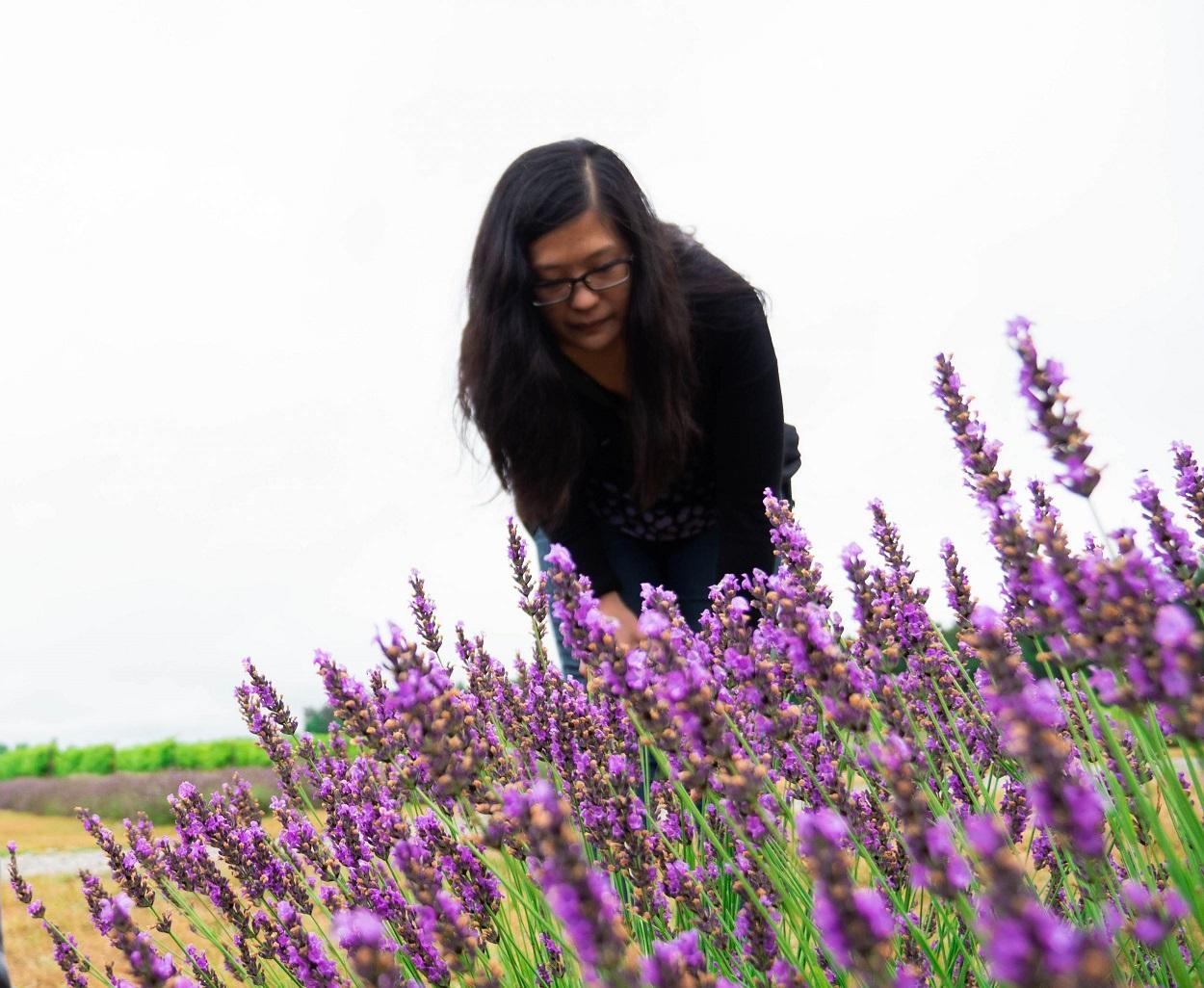 Joyce Leung lavender