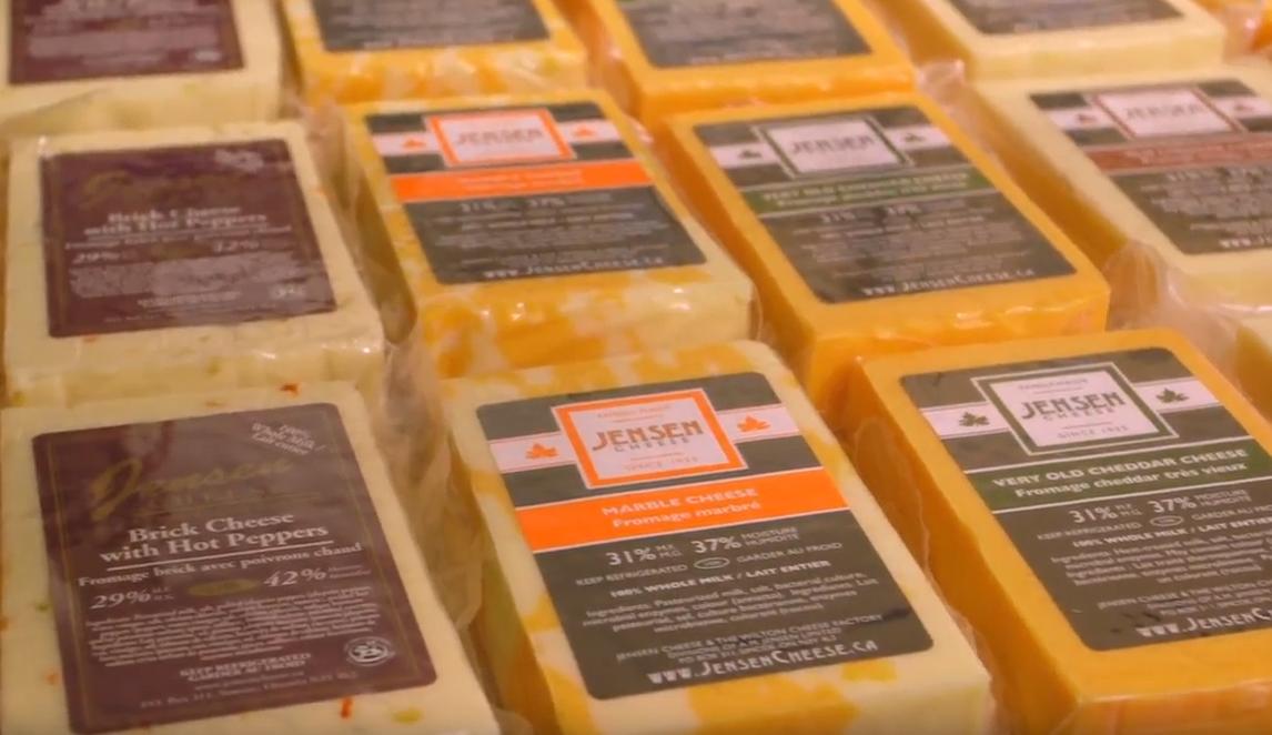 Jensen Cheese blocks