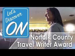 Travel Writer Award
