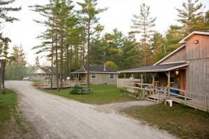 Camp Trillium cabins