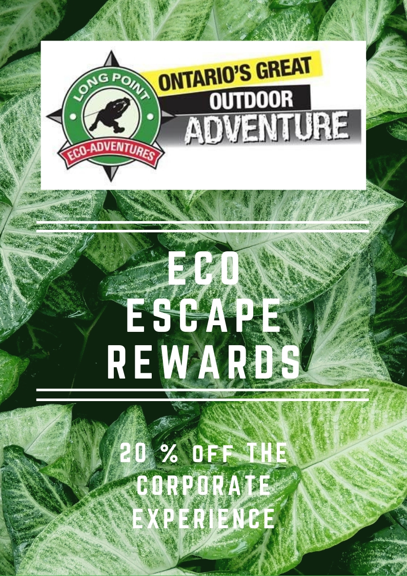 Corporate Discount at Long Point Eco Adventures!