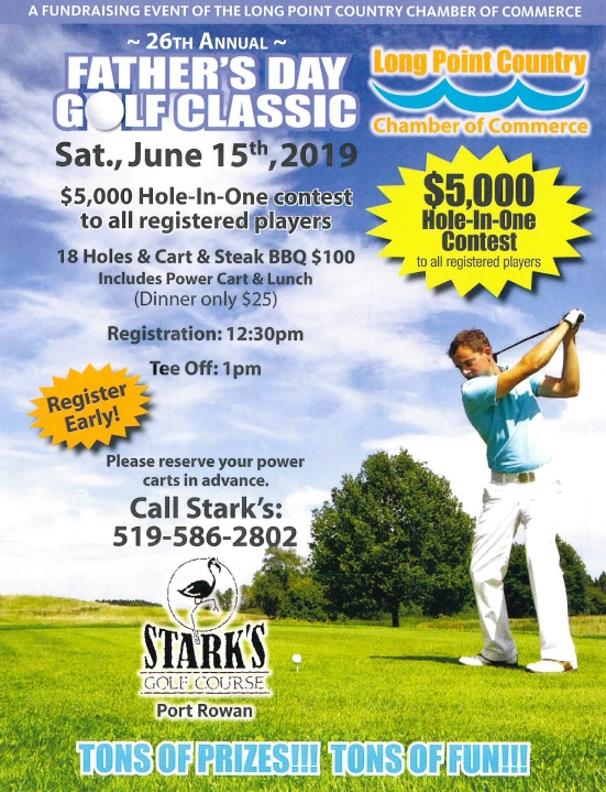 Long Point Country Chamber of Commerce Father's Day Golf Classic