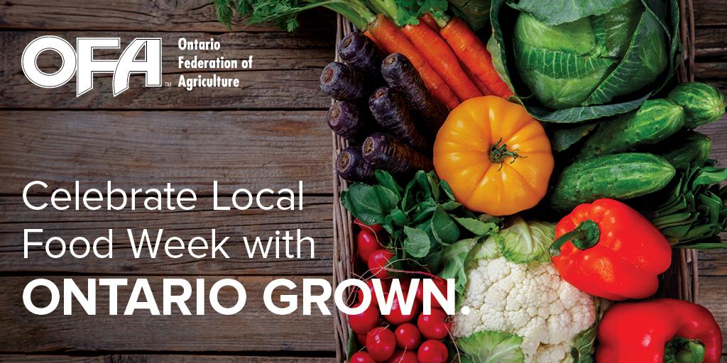 Celebrate Local Food Week