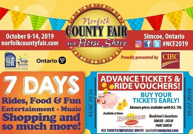 Norfolk County Fair & Horse Show 2019