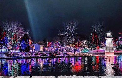 Simcoe Christmas Panorama Official Light Up Ceremony