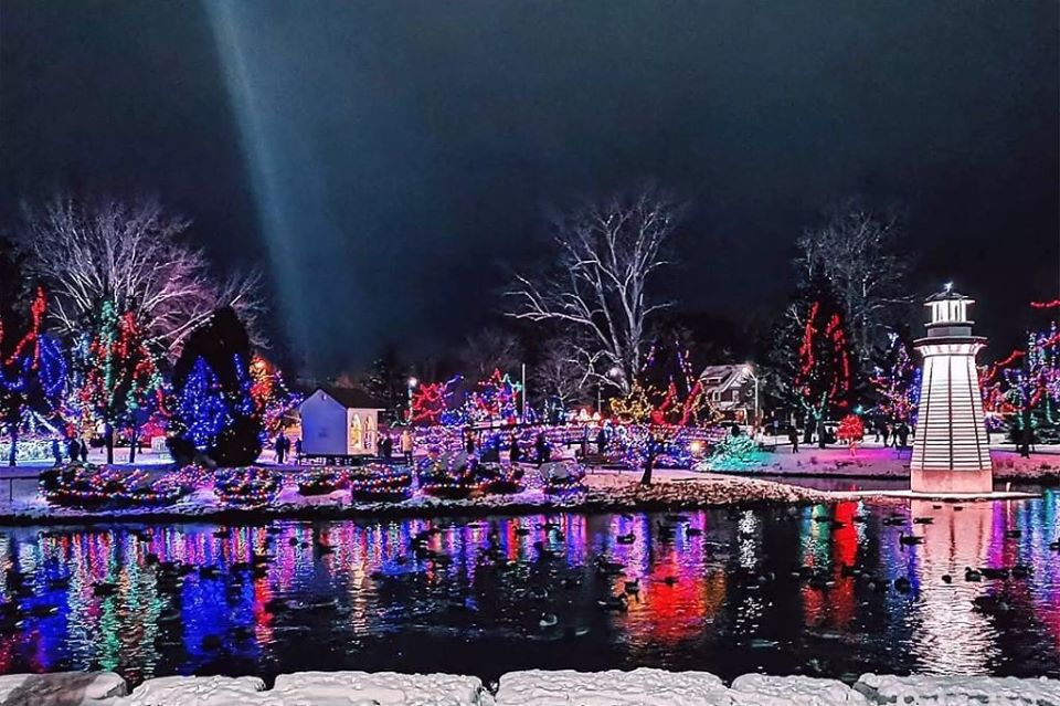Simcoe Christmas Panorama Official Light Up Ceremony