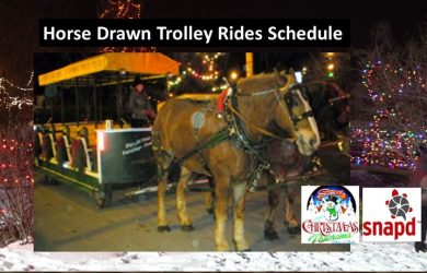 Christmas Panorama Trolley Rides