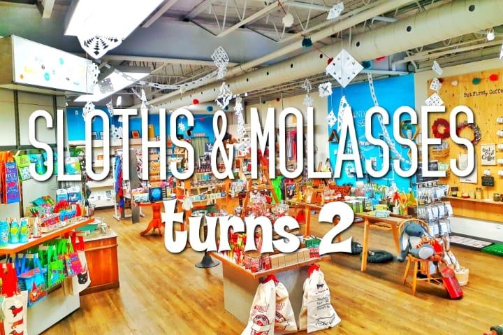 Sloths and Molasses Birthday Bash