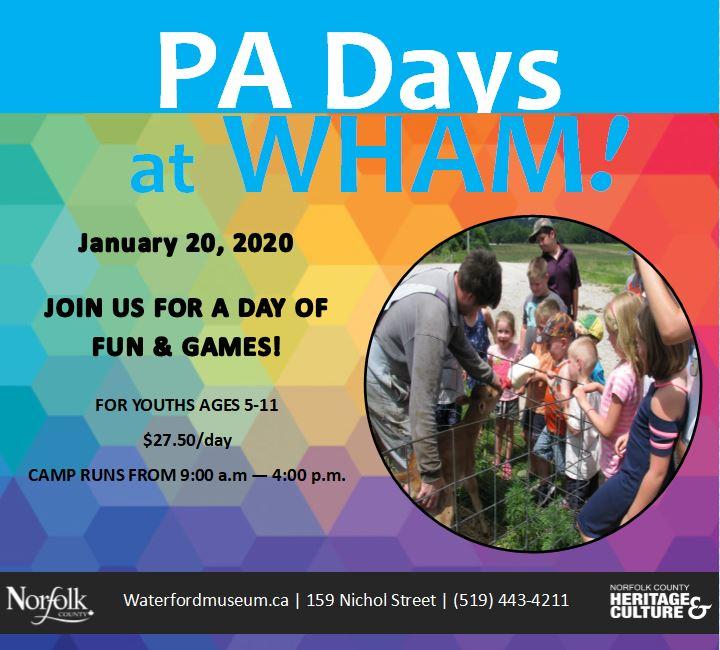 PA Days at WHAM