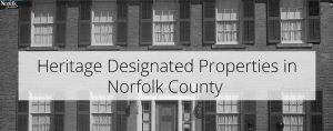 Heritage Designated Properties
